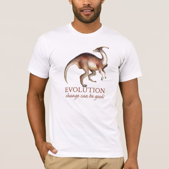 Evolution Dinosaur Humour T-Shirt