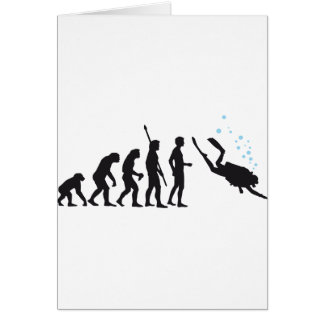 evolution diving card