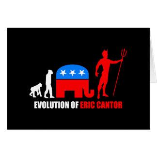 evolution Eric Cantor Cards