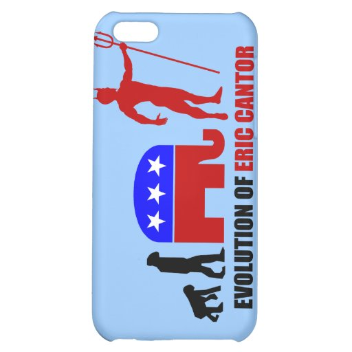 evolution Eric Cantor iPhone 5C Covers