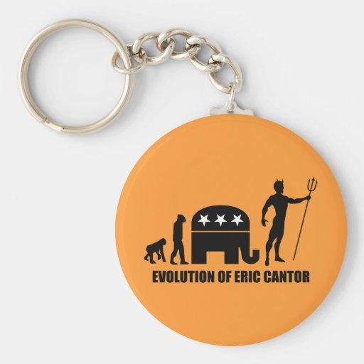 evolution Eric Cantor Keychains