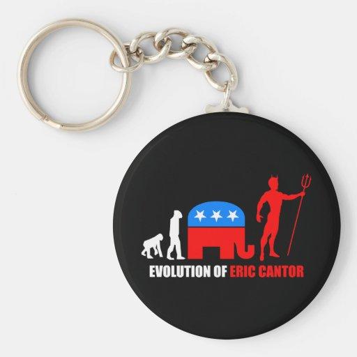 evolution Eric Cantor Key Chains