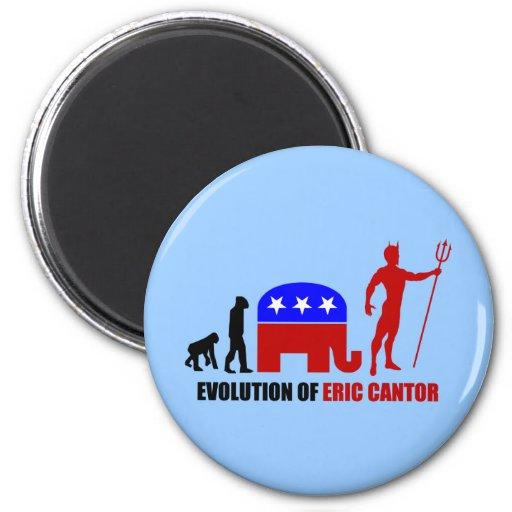evolution Eric Cantor Magnets