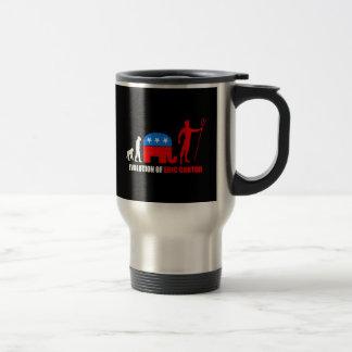 evolution Eric Cantor 15 Oz Stainless Steel Travel Mug