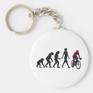 evolution female bicacle more racer basic round button key ring