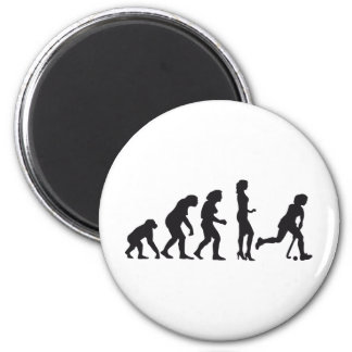 evolution female hockey magnet