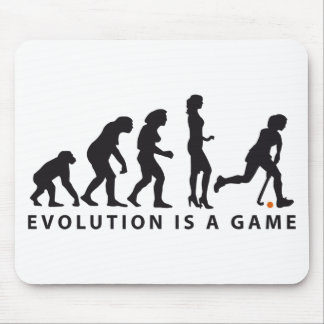evolution female hockey mouse mat