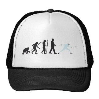 evolution fencing mesh hats