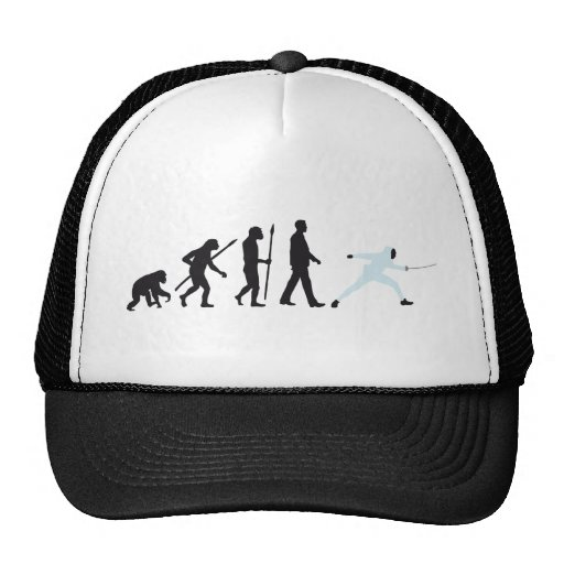 evolution fencing mesh hats