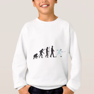 evolution fencing sweatshirt