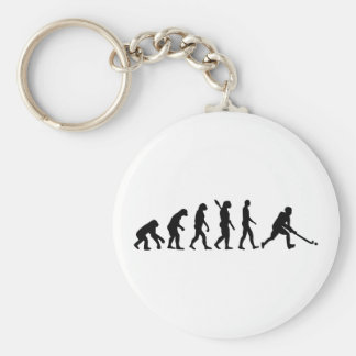 Evolution Field hockey Basic Round Button Key Ring