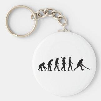 Evolution Field hockey Basic Round Button Key Ring