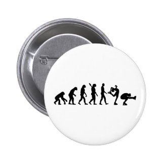 Evolution Figure skating couple 6 Cm Round Badge
