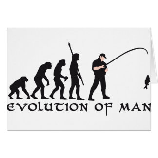 evolution fishing card