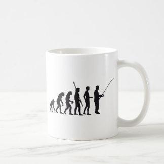 evolution fishing coffee mugs