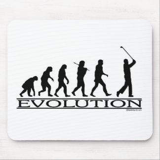 Evolution - Golf - Man Mouse Pad