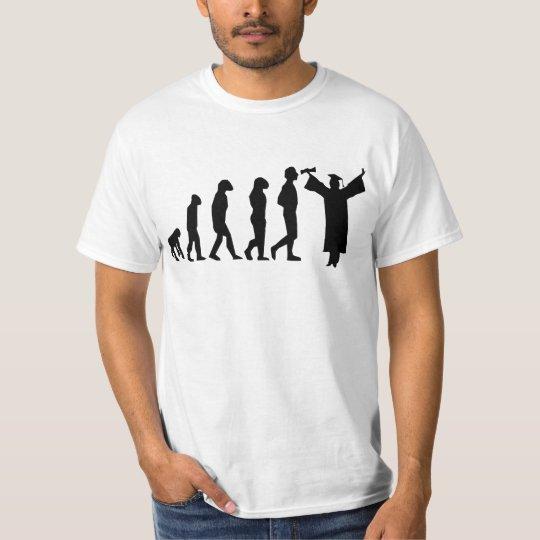 Evolution Graduation Tshirt Funny Grad Tee