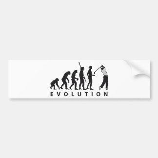 evolution gulf bumper sticker