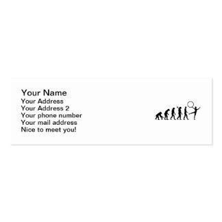 Evolution Gymnastics Business Card