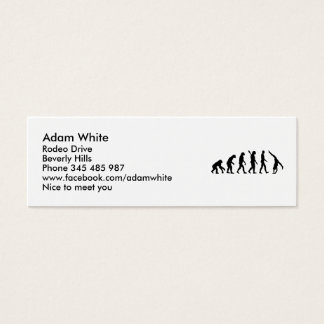 Evolution Gymnastics Mini Business Card