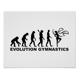 Evolution Gymnastics Poster