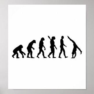 Evolution Gymnastics Poster