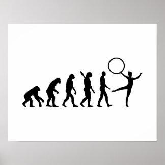 Evolution Gymnastics Print