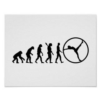 Evolution gymwheel poster