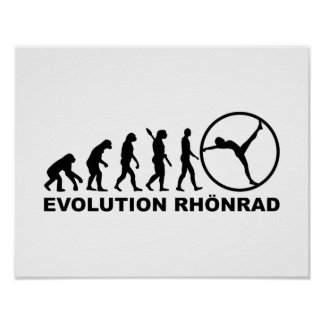 Evolution gymwheel rhönrad poster