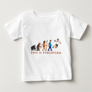 Evolution handball comic styles baby T-Shirt