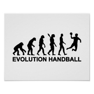 Evolution Handball Poster