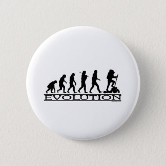 Evolution - Hiking 6 Cm Round Badge