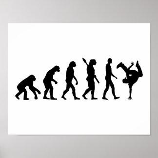 Evolution hip hop poster
