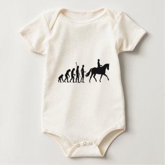 evolution horse riding baby bodysuit