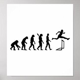 Evolution hurdles athlectics print