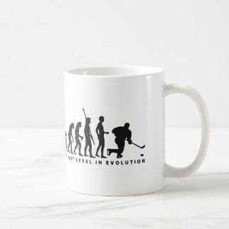evolution icehockey basic white mug