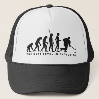 evolution icehockey trucker hat