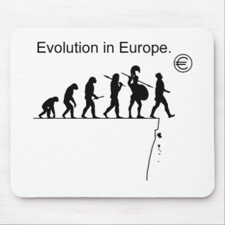 Evolution In Europe Mouse Mat