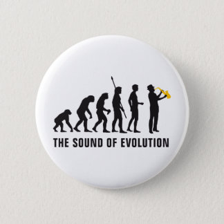 evolution jazz 6 cm round badge