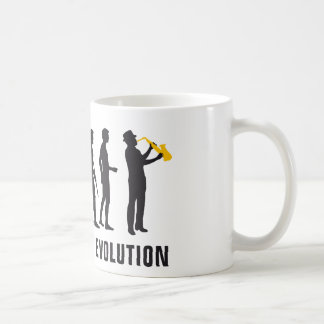 evolution jazz basic white mug
