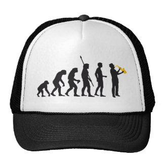 evolution jazz mesh hat