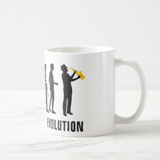 evolution jazz coffee mug