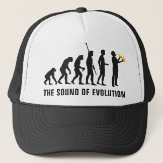evolution jazz trucker hat