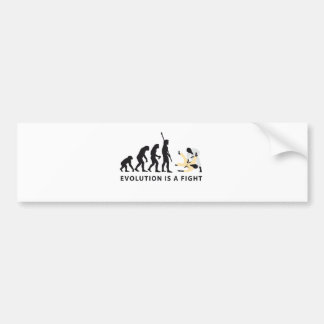 evolution Judo Bumper Sticker