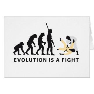 evolution Judo Card
