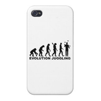 Evolution Juggling Covers For iPhone 4