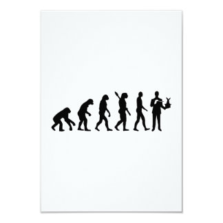 Evolution Magician 9 Cm X 13 Cm Invitation Card