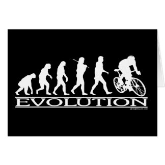 Evolution Male Cyclist Card
