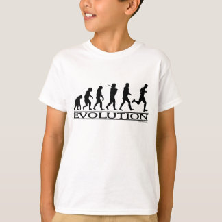 Evolution - Man Running T-Shirt