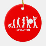 evolution marching band christmas ornaments